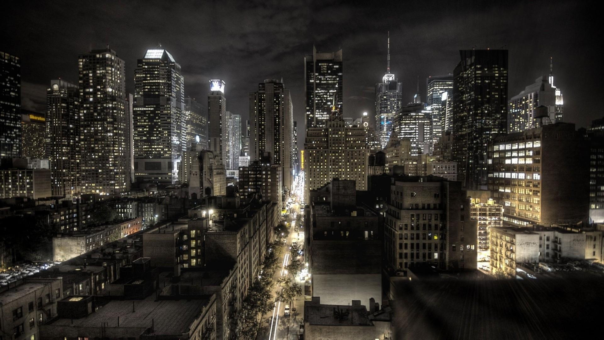 New york sfondi notte 64 immagini for Foto new york notte
