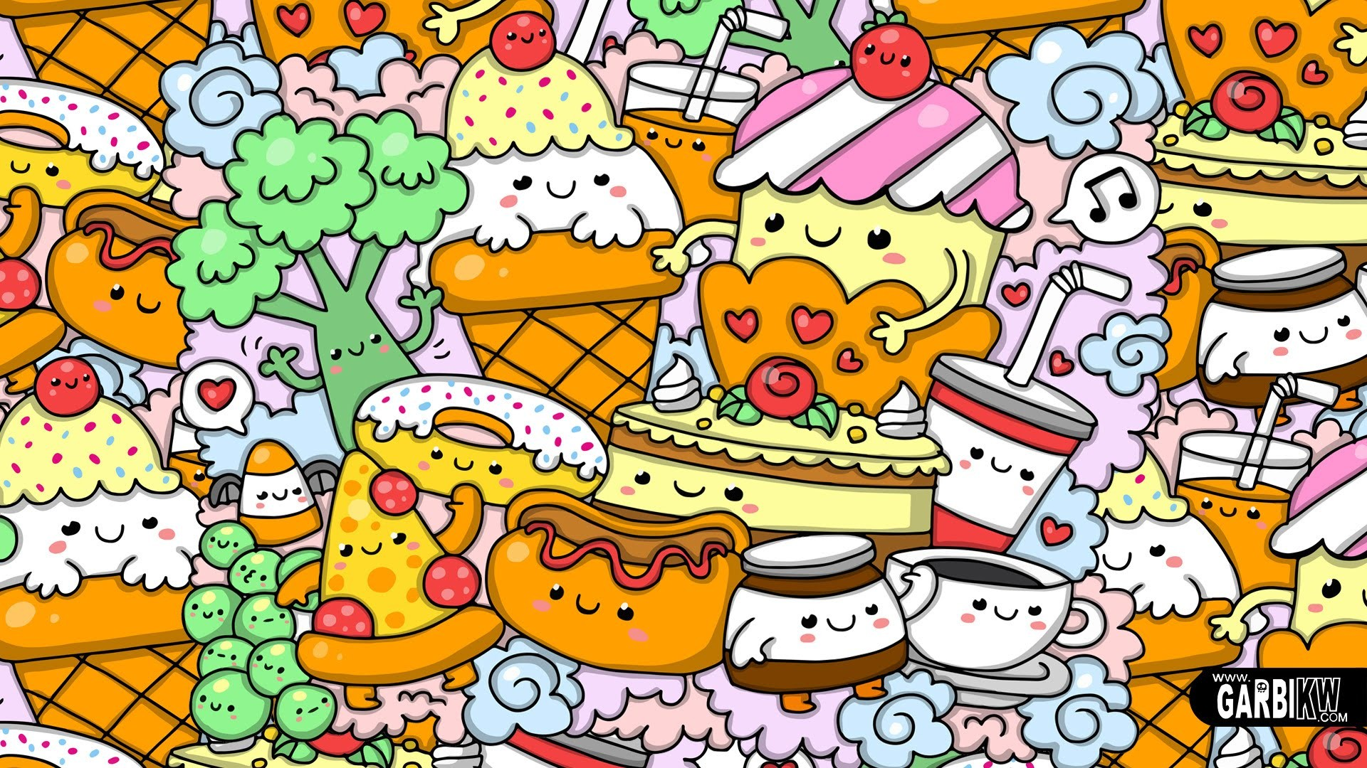Kawaii food wallpaper 74 immagini - Kawaii food wallpaper ...