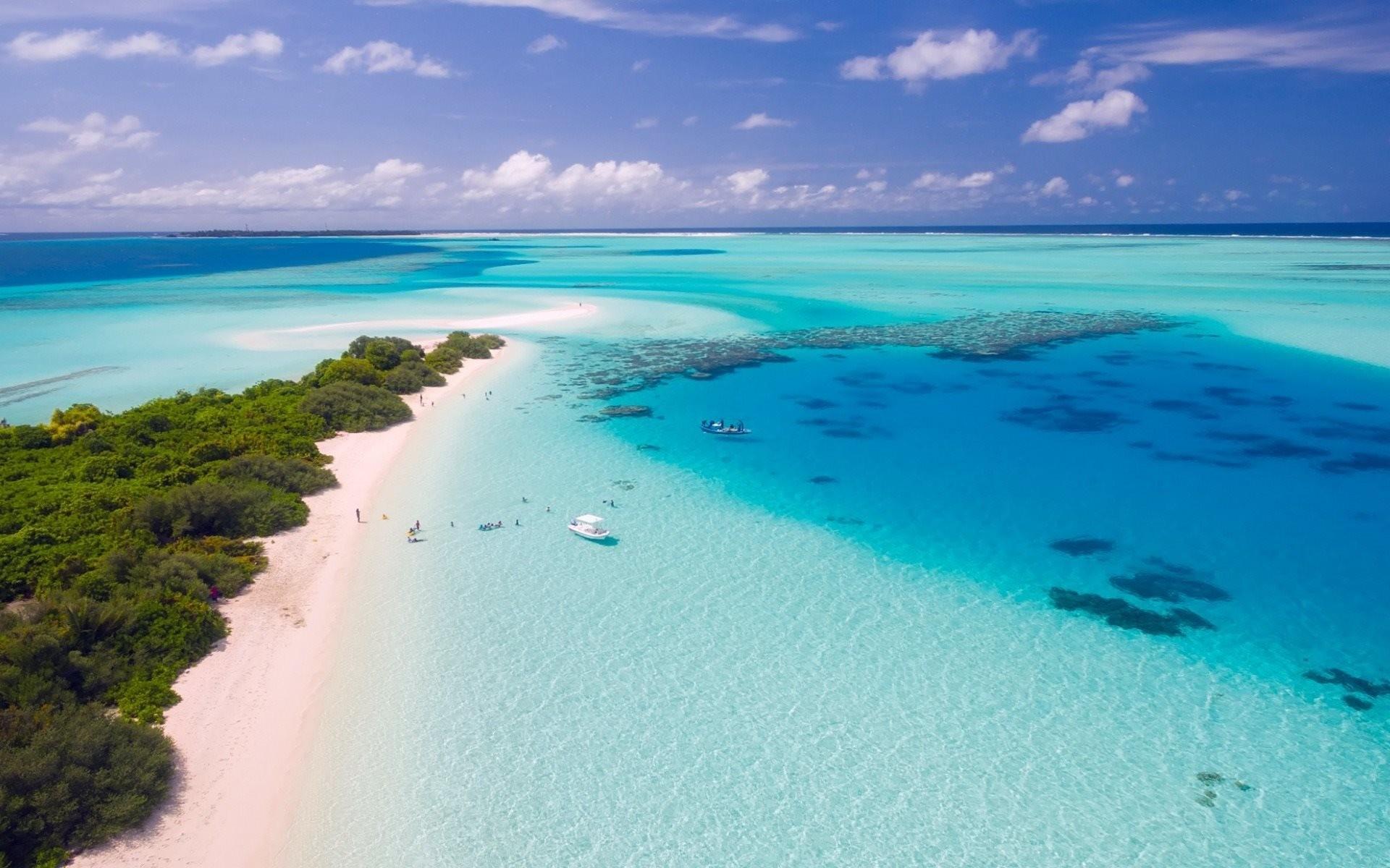 Sfondi desktop mare maldive