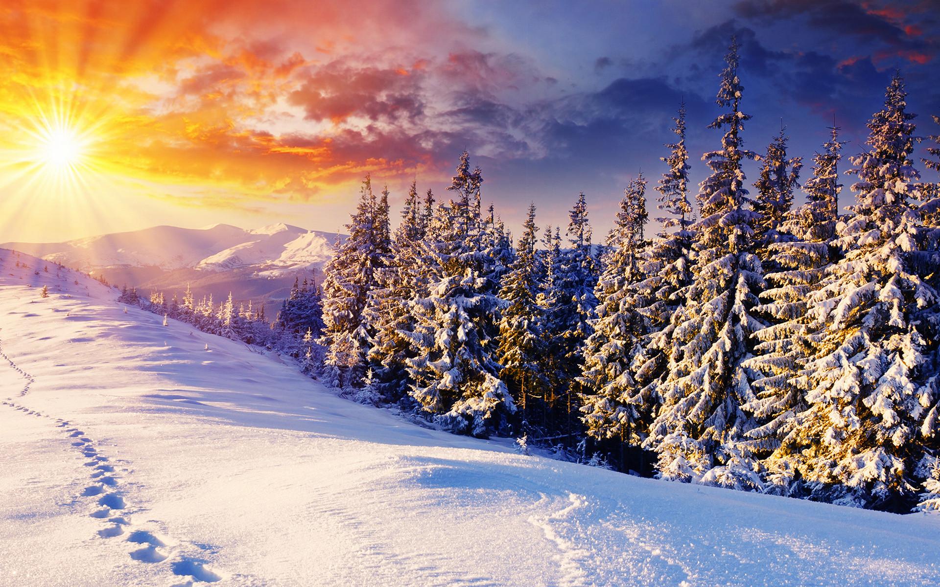 Sfondi invernali 76 immagini for Paesaggi per sfondi