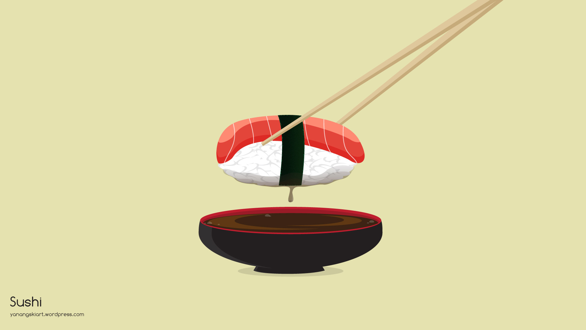 Kawaii Sushi Wallpaper 62 Immagini