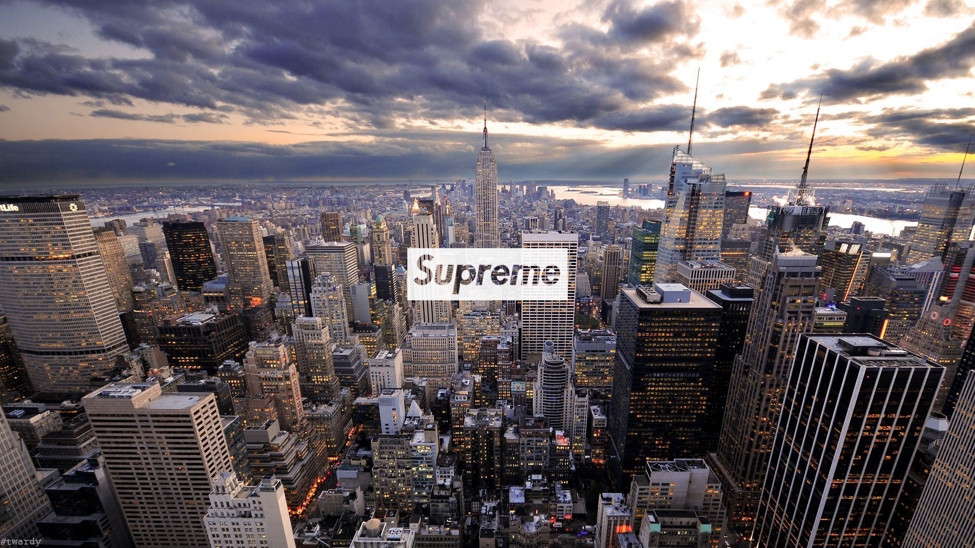 New-York город небоскребы высота the city skyscrapers height подборки