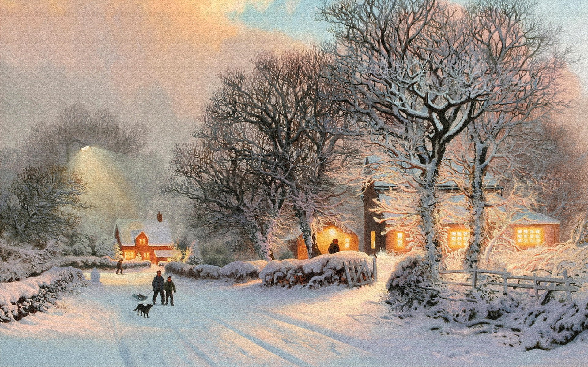 Sfondi Natalizi Innevati.Sfondi Neve 50 Immagini