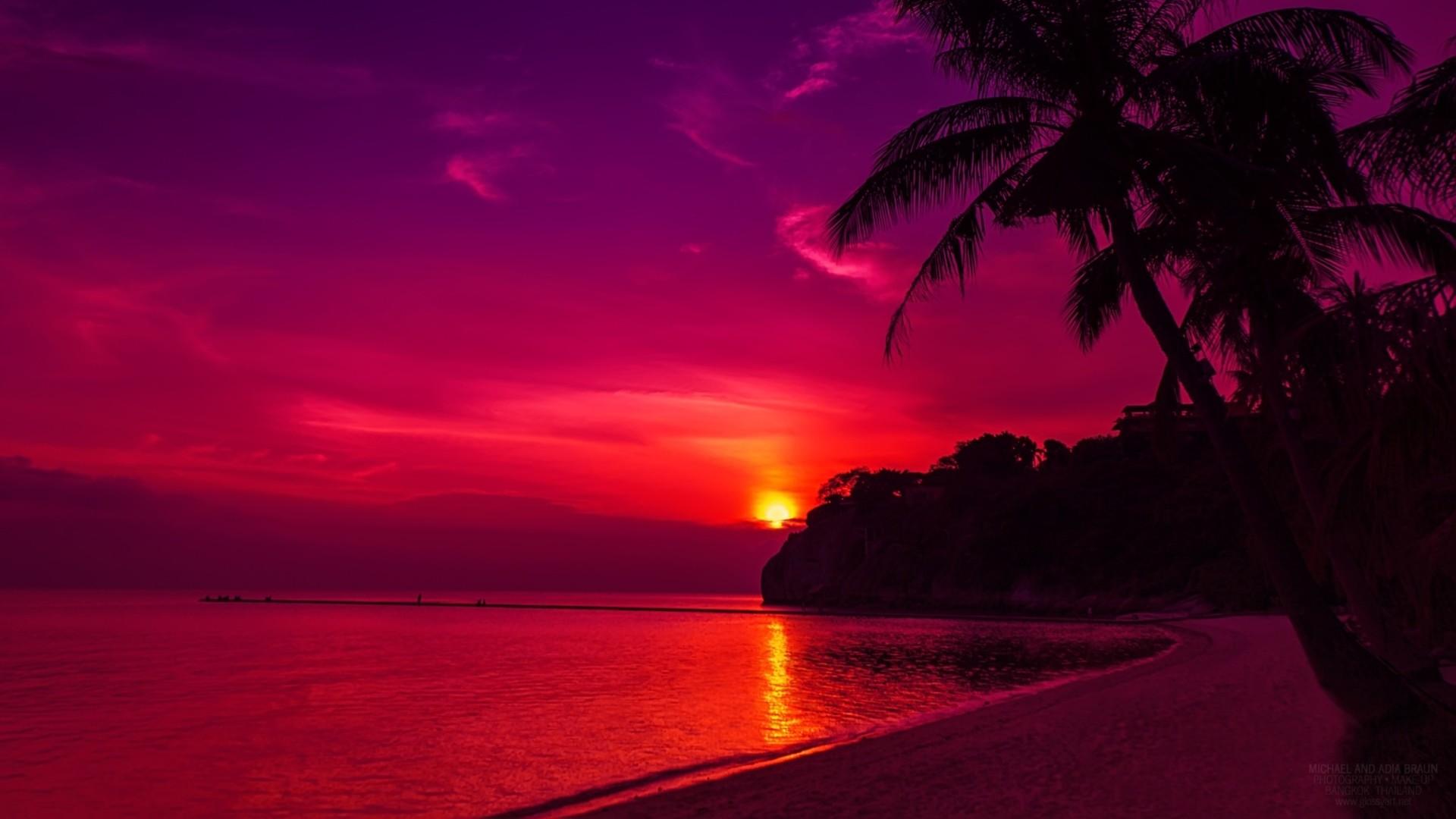 Sfondi romantici 55 immagini for Sfondi desktop tramonti mare