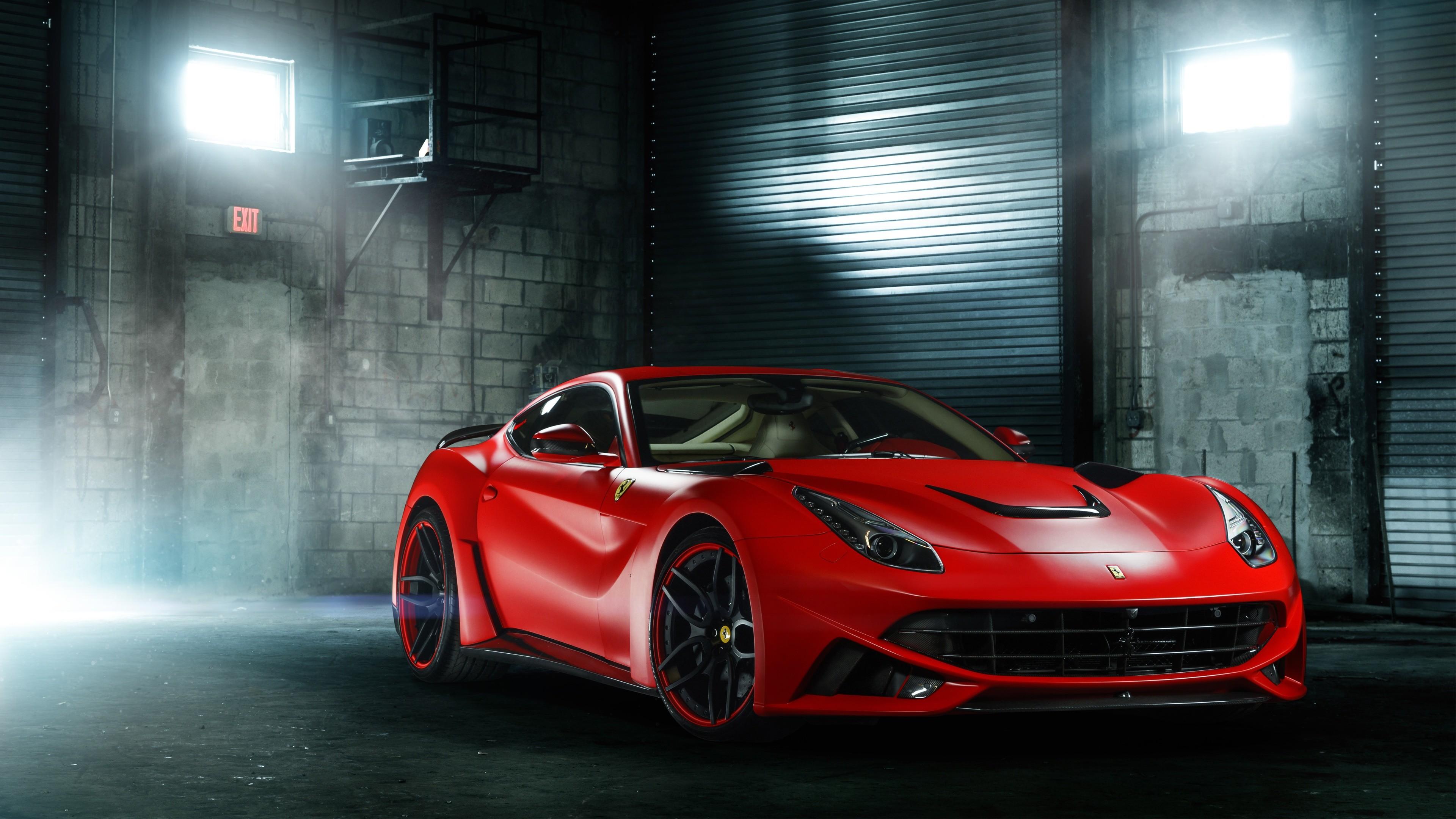 Ferrari F12 дорога забор  № 2437957  скачать