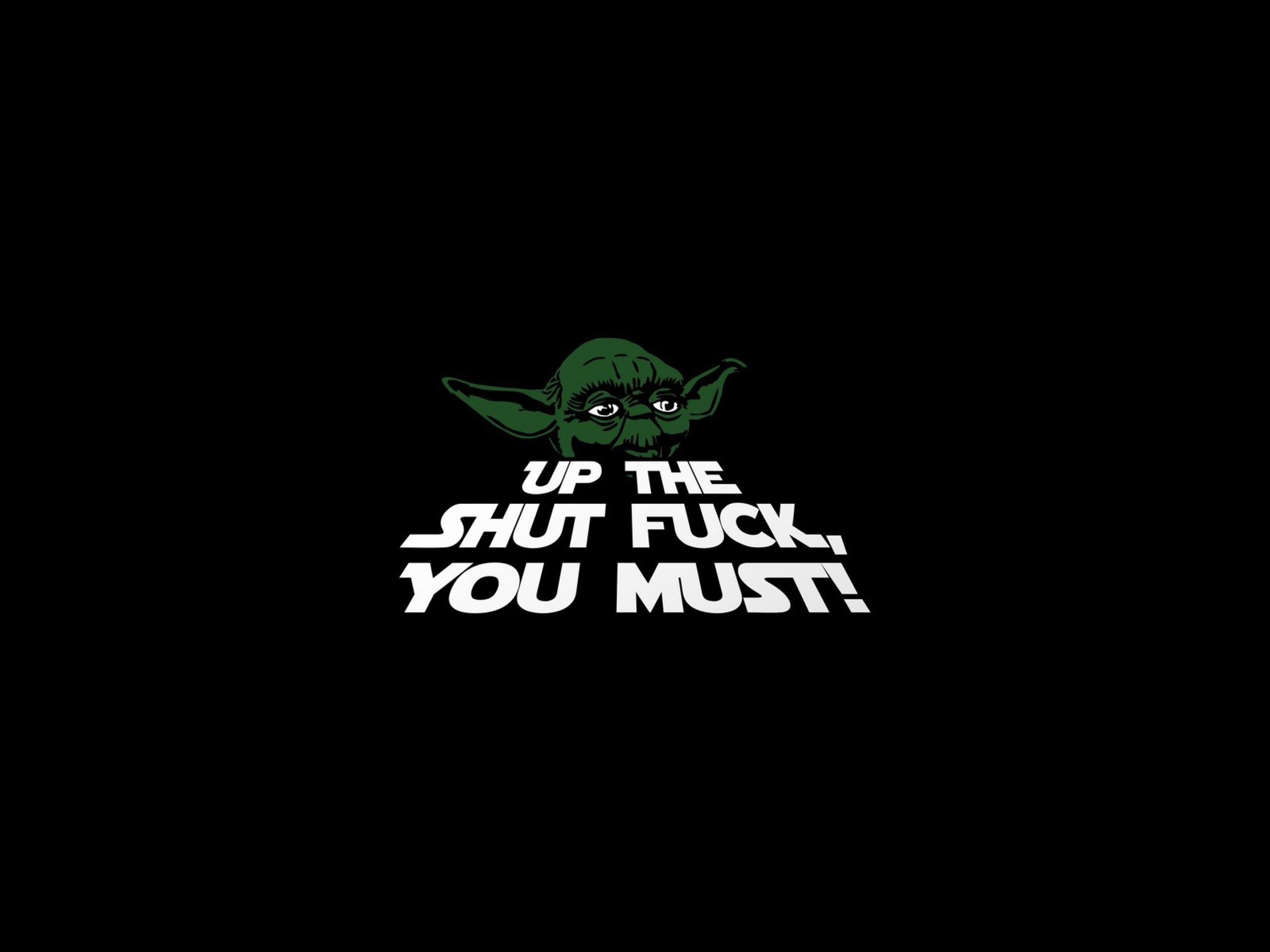 Yoda wallpaper 78 immagini - Star wars quotes wallpaper ...