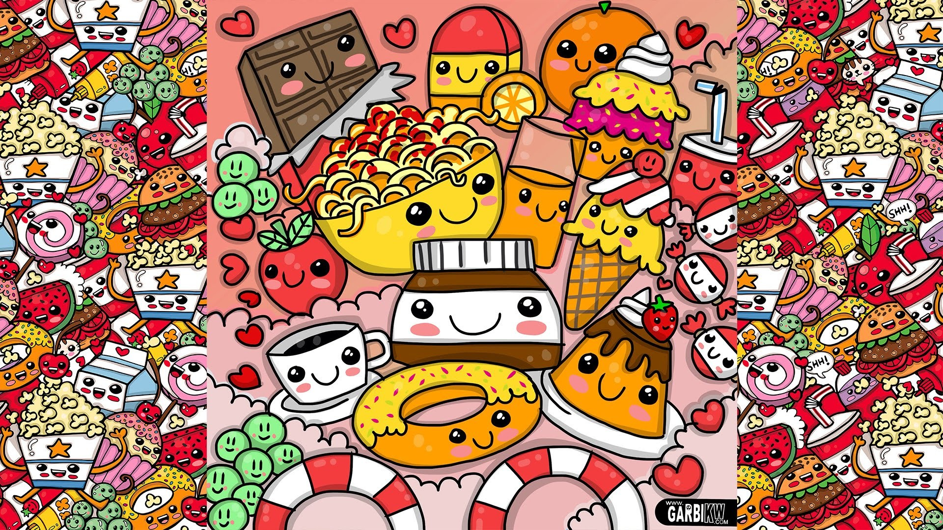 Kawaii Food Wallpaper 74 Immagini