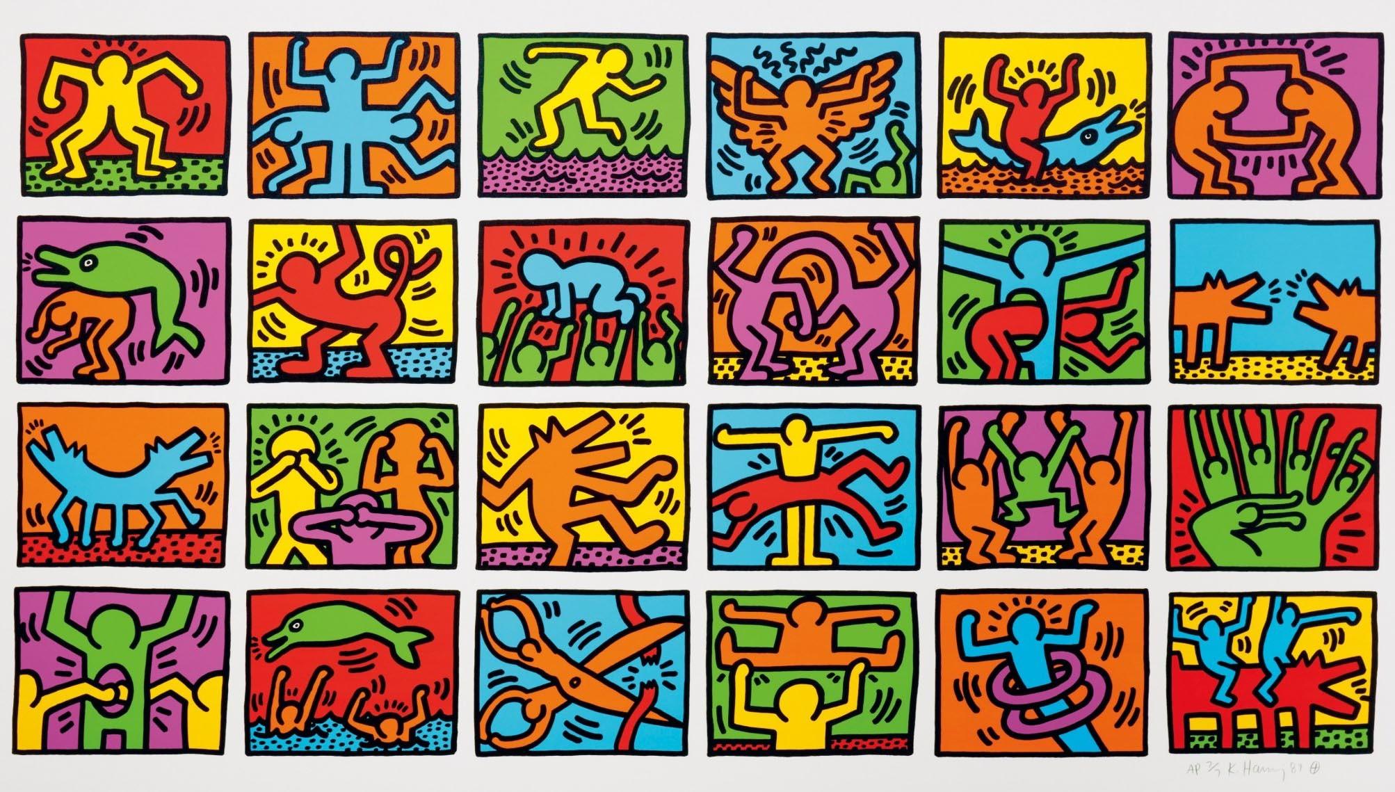 Keith Haring Wallpaper 50 Immagini
