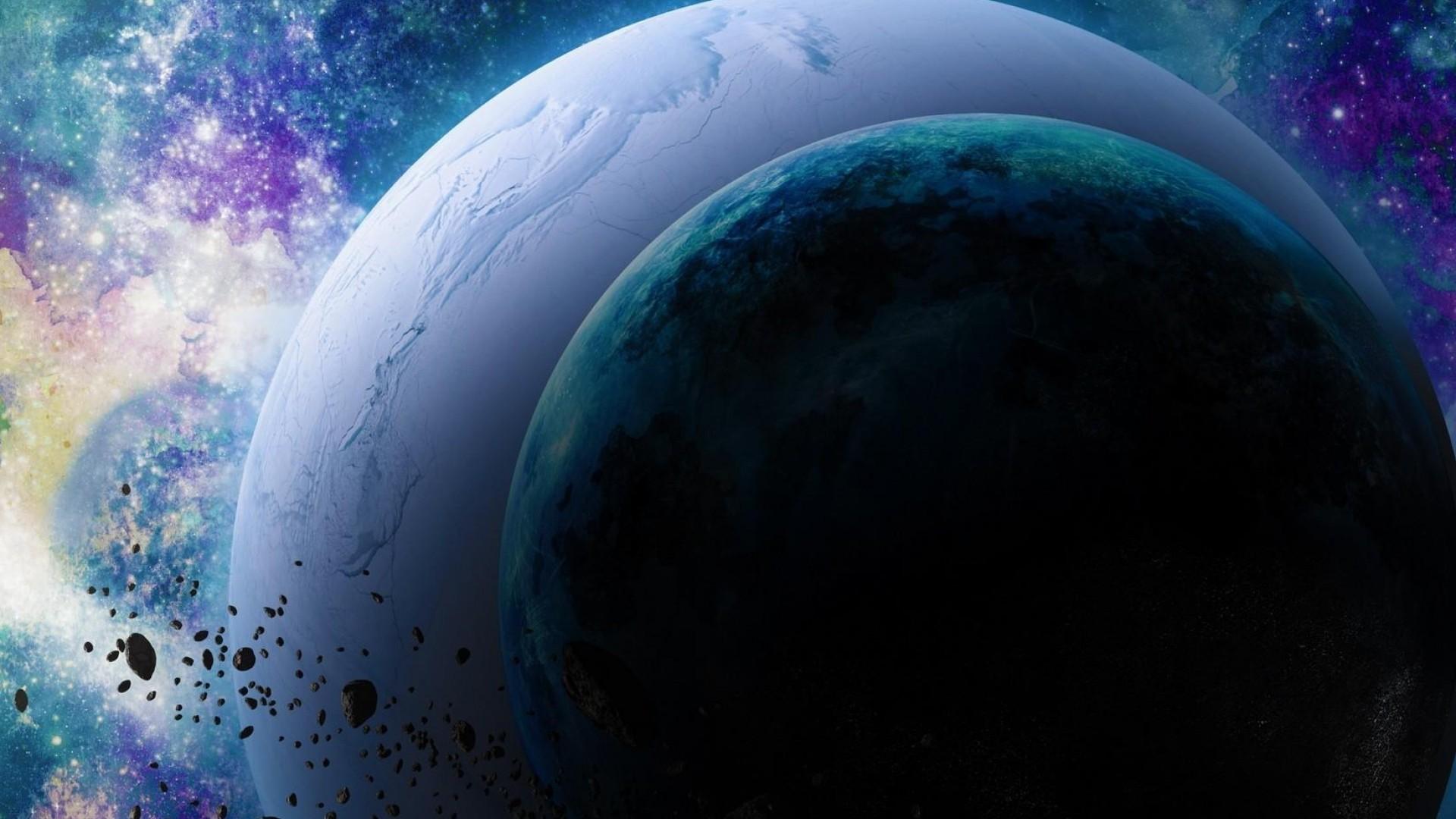 Sfondi pianeti 68 immagini for Immagini universo gratis