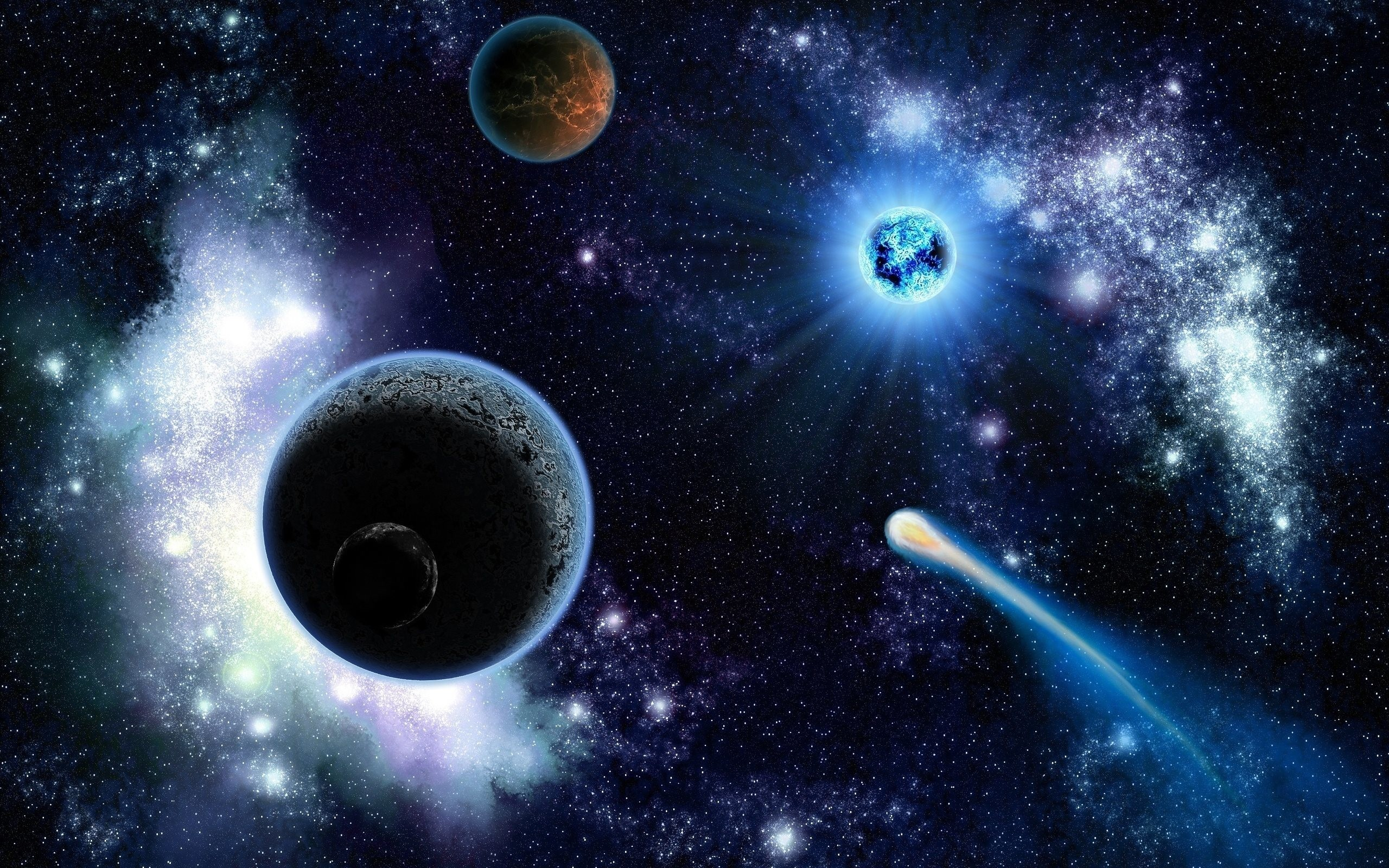 Sfondi pianeti 68 immagini for Sfondi galassie hd