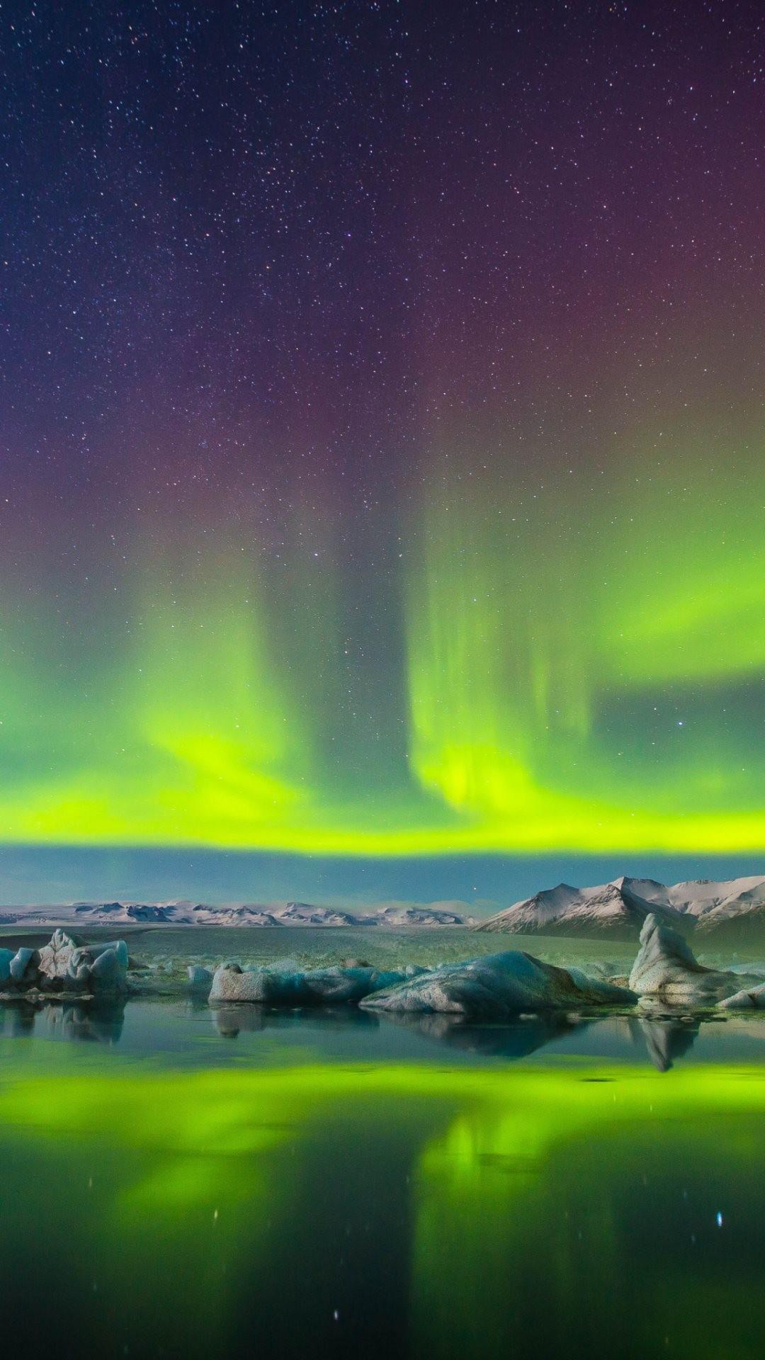 Sfondi smartphone 4k 73 immagini for Sfondi desktop aurora boreale