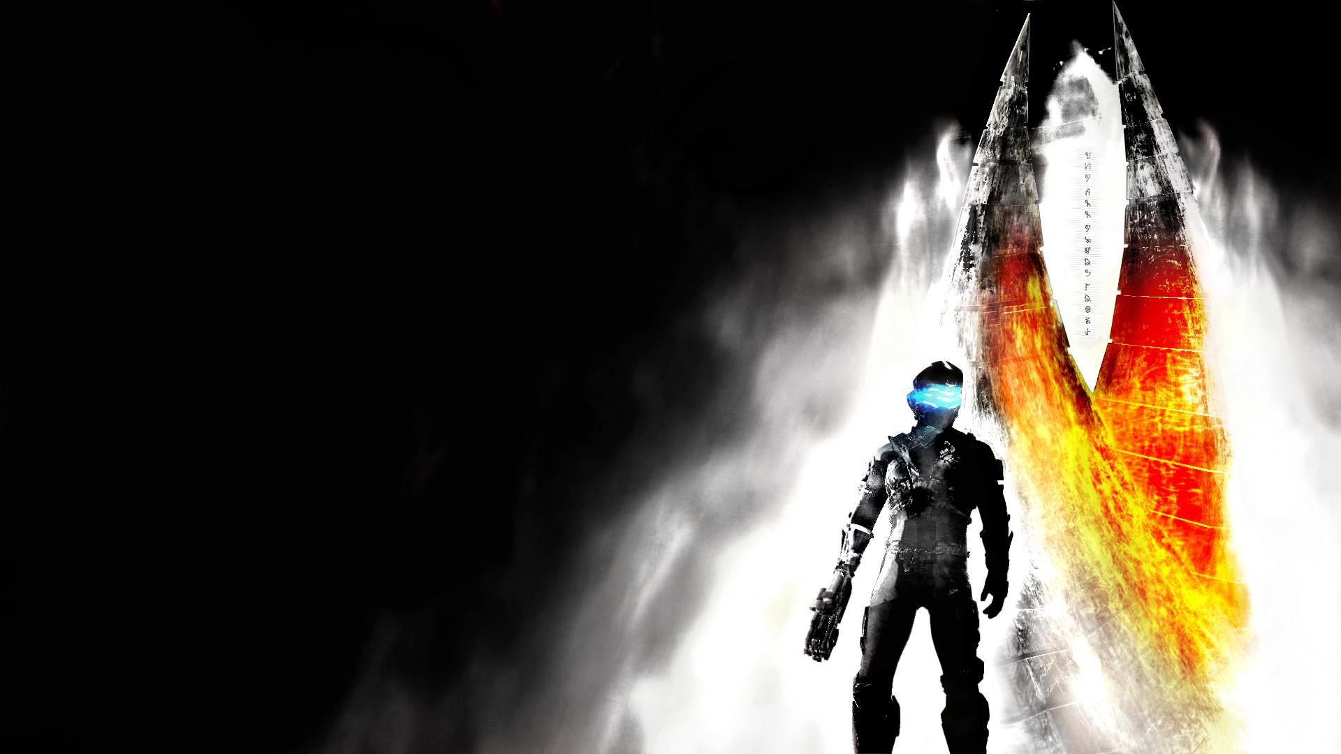 Обои Dead Space 3 игра картинки на рабочий стол на тему Космос — скачать смотреть