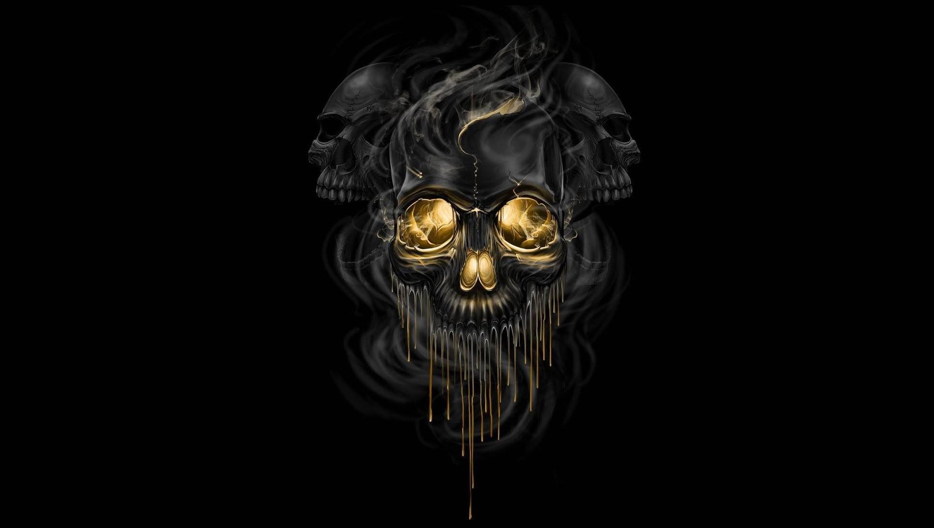 Black Metal Facce Paint