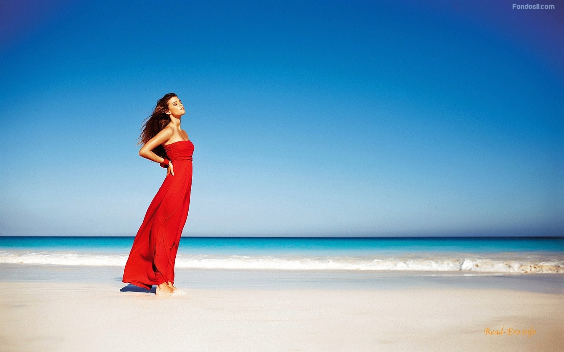 Donna in spiaggia nude picture 81